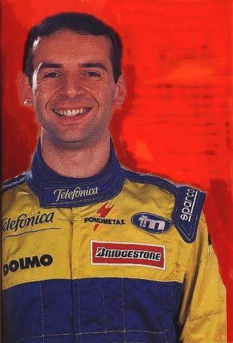 Giorgio Vinella Official Test Driver Formula 1 Champion F3000  Mugello Minardi Fernando Alonso Fiorio Gené Autosport