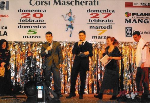 Giorgio Vinella Official Test Driver Formula 1 Minardi F3000 Champion Award Foundation Carnival Putignano Angelini Alonso