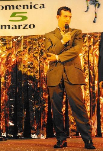 Giorgio Vinella Official Test Driver Formula 1 Minardi F3000 Champion Award Foundation Carnival Putignano Angelini Alonso 2