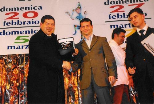 Giorgio Vinella Official Test Driver Formula 1 Minardi F3000 Champion Award Foundation Carnival Putignano Angelini Alonso 3
