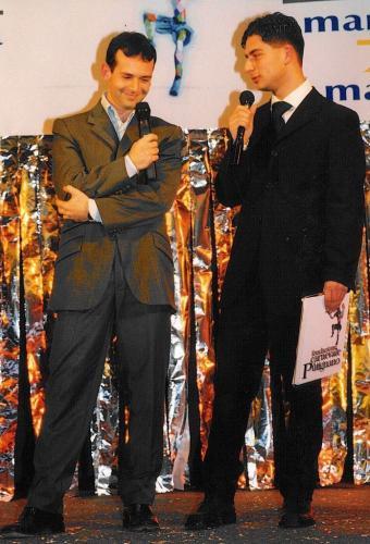 Giorgio Vinella Official Test Driver Formula 1 Minardi F3000 Champion Award Foundation Carnival Putignano Angelini Alonso 4