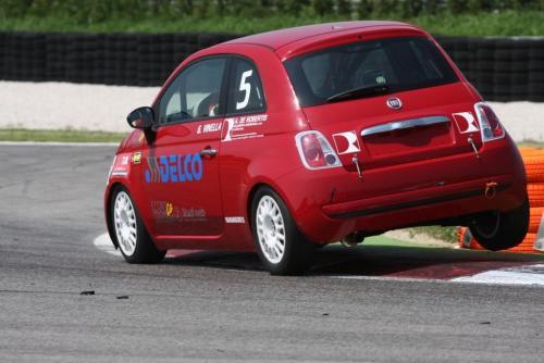 Giorgio Vinella 2008 Fiat 500 Abarth Italian Championship Adria 2