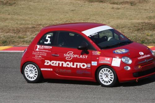 Giorgio Vinella 2008 Fiat 500 Abarth Italian Championship Mugello