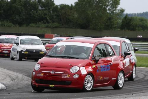 Giorgio Vinella 2008 Fiat 500 Abarth Italian Championship  Magione 3