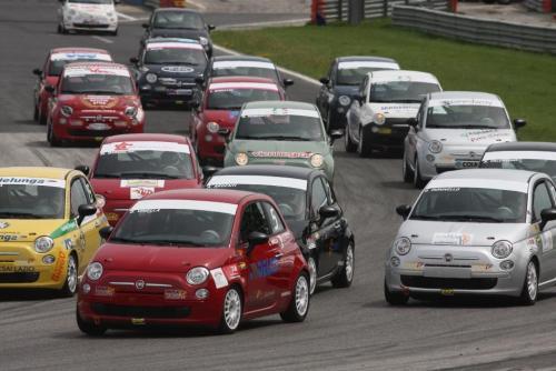 Giorgio Vinella 2008 Fiat 500 Abarth Campionato Italiano Magione