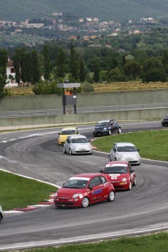 Giorgio Vinella 2008 Fiat 500 Abarth Campionato Italiano Magione 2