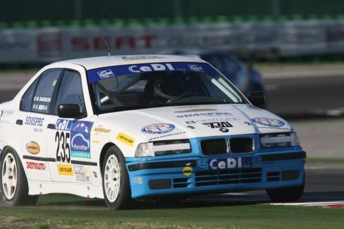 Giorgio Vinella Endurance Touring Car Baroncini 2009 Champion Imola Misano Mugello Monza BMW E36