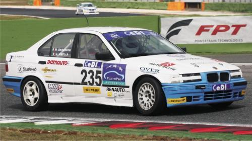 Giorgio Vinella Endurance Touring Car Baroncini 2009 Champion Imola Monza Mugello Adria BMW E36