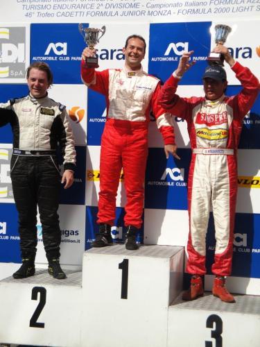 Giorgio Vinella Endurance Touring Car  Baroncini 2009 Champion Varano Aramis Manfredi Ravetto podium win victory