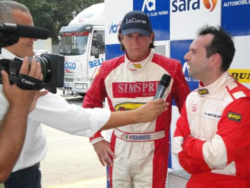 Giorgio Vinella Endurance Touring Car  Baroncini 2009 Champion Varano win victory TV Interview