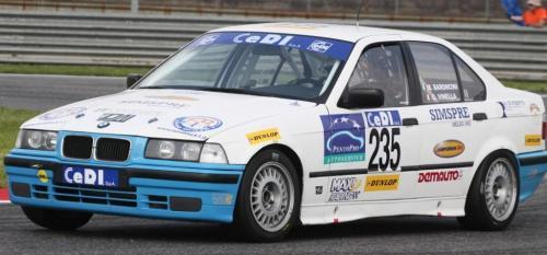 Giorgio Vinella Campionato Italiano Turismo Endurance Baroncini 2009 Campioni Imola 2