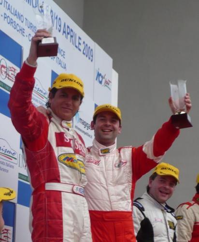 Giorgio Vinella Campionato Italiano Turismo Endurance Baroncini 2009 Campioni Imola Aramis Manfredi Ravetto