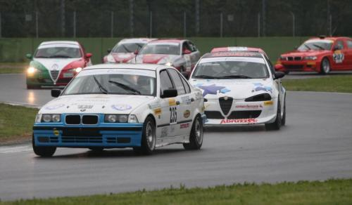 Giorgio Vinella Campionato Italiano Turismo Endurance Baroncini 2009 Campioni Imola BMW E36