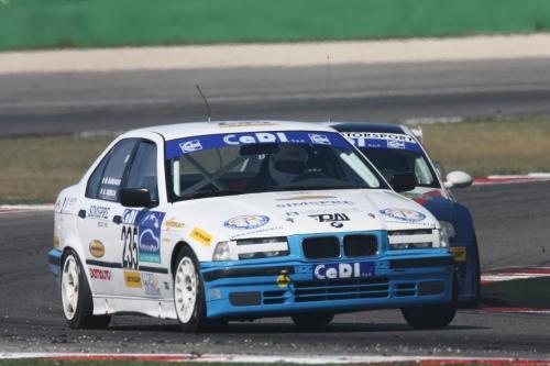 Giorgio Vinella Campionato Italiano Turismo Endurance Baroncini 2009 Campioni Imola Misano Adria Mugello BMW E36