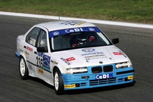 Giorgio Vinella Campionato Italiano Turismo Endurance Baroncini 2009 Campioni Imola Misano Mugello Monza BMW E36 1