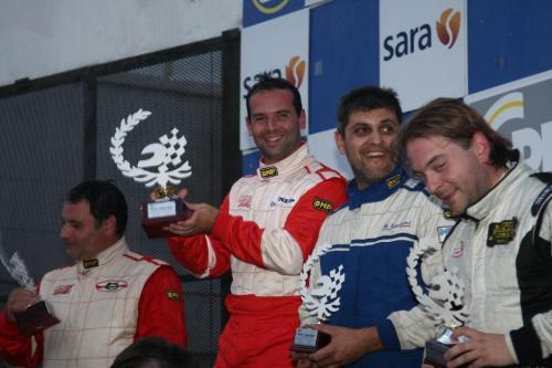 Giorgio Vinella Campionato Italiano Turismo Endurance Baroncini 2009 Campioni Vallelunga Aramis Manfredi Ravetto