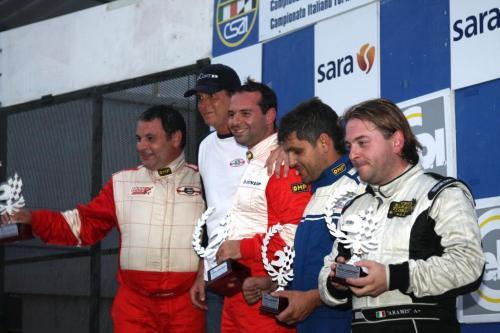 Giorgio Vinella Campionato Italiano Turismo Endurance Baroncini 2009 Campioni Vallelunga Aramis Manfredi Ravetto 1