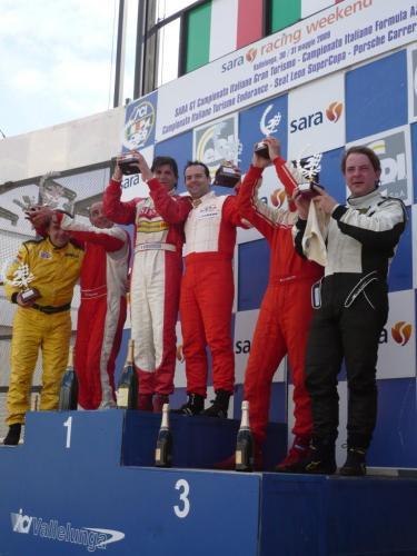 Giorgio Vinella Campionato Italiano Turismo Endurance Baroncini 2009 Campioni Vallelunga Aramis Manfredi Ravetto 4