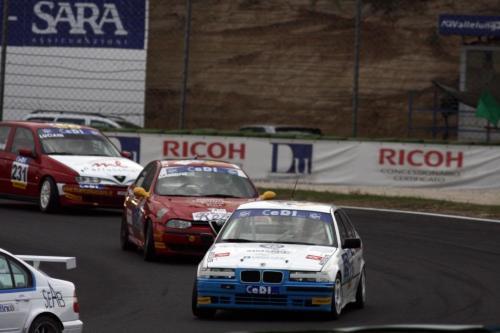 Giorgio Vinella Campionato Italiano Turismo Endurance Baroncini 2009 Campioni Vallelunga BMW E36