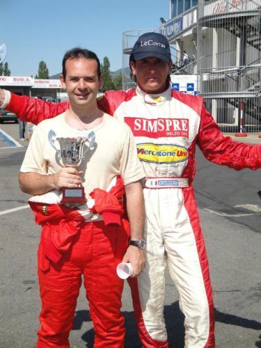 Giorgio Vinella Campionato Italiano Turismo Endurance Baroncini 2009 Campioni Varano vittoria Alfa Romeo 156