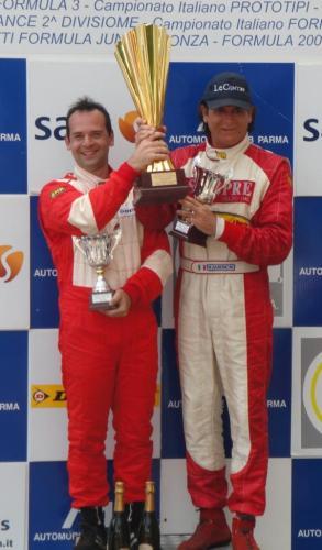 Giorgio Vinella Campionato Italiano Turismo Endurance Baroncini 2009 Campioni Varano vittoria Alfa Romeo 156 1