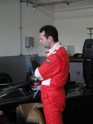 Giorgio Vinella 2010 Audi R10 Diesel Le Mans 24 hour Test Paul Ricard Le Castellet Team Kolles