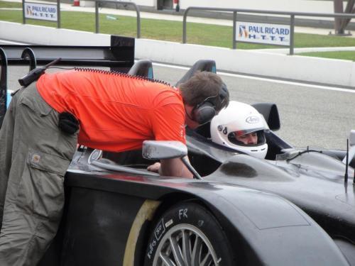 Giorgio Vinella 2010 Audi R10 Diesel Le Mans 24 hour Test Paul Ricard Le Castellet Team Kolles 3