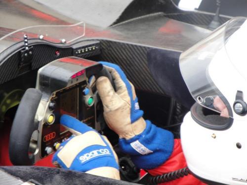 Giorgio Vinella 2010 Audi R10 Diesel Le Mans 24 hour Test Paul Ricard Le Castellet Team Kolles 5
