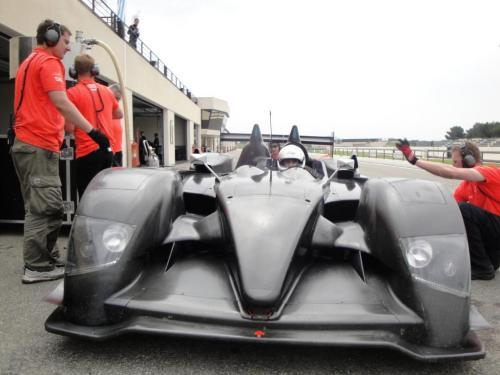 Giorgio Vinella 2010 Audi R10 Diesel Le Mans 24 hour Test Paul Ricard Le Castellet Team Kolles 6