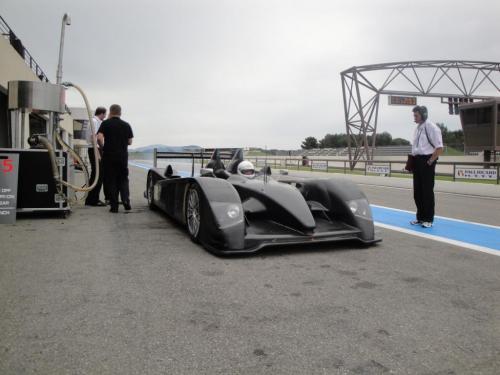 Giorgio Vinella 2010 Audi R10 Diesel 24H di Le Mans Test Paul Ricard Le Castellet Team Kolles 2