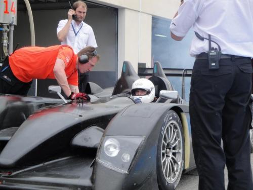 Giorgio Vinella 2010 Audi R10 Diesel 24H di Le Mans Test Paul Ricard Le Castellet Team Kolles 4