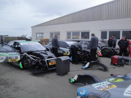 Giorgio Vinella 2010 Test DTM Audi A4 Kolles TME Ruberti