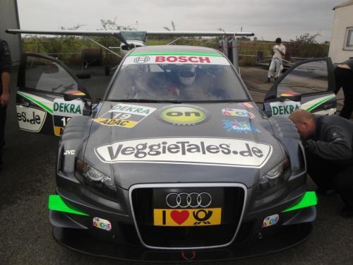 Giorgio Vinella 2010 Test DTM Audi A4 Kolles TME Ruberti 12