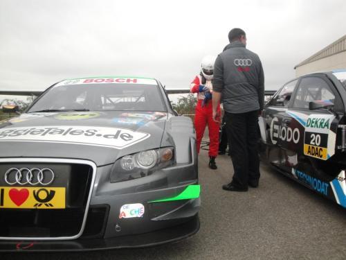 Giorgio Vinella 2010 Test DTM Audi A4 Kolles TME Ruberti 2
