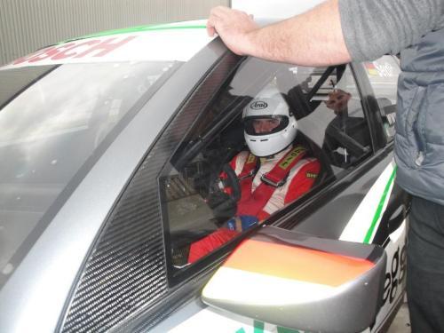 Giorgio Vinella 2010 Test DTM Audi A4 Kolles TME Ruberti 6