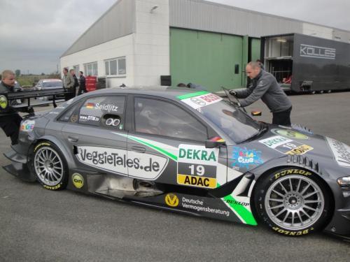 Giorgio Vinella 2010 Test DTM Audi A4 Kolles TME Ruberti 11