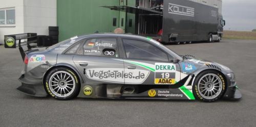 Giorgio Vinella 2010 Test DTM Audi A4 Kolles TME Ruberti 13