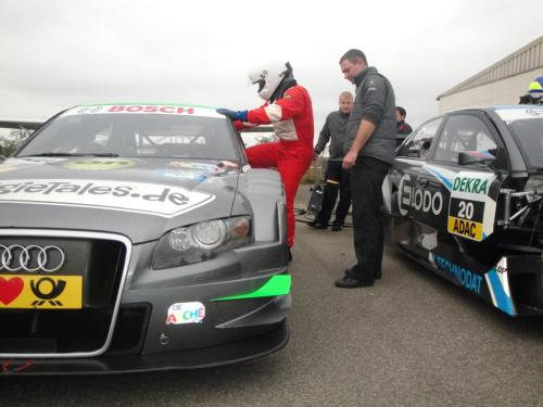 Giorgio Vinella 2010 Test DTM Audi A4 Kolles TME Ruberti 3
