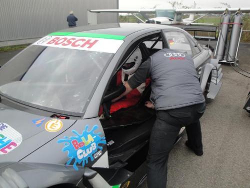 Giorgio Vinella 2010 Test DTM Audi A4 Kolles TME Ruberti 4