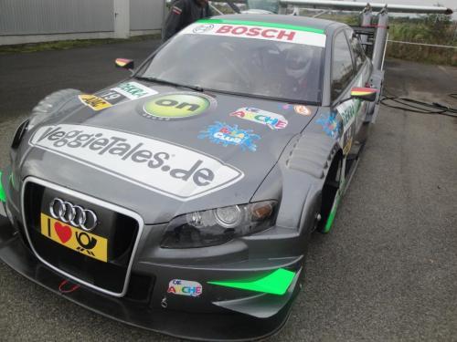 Giorgio Vinella 2010 Test DTM Audi A4 Kolles TME Ruberti 7