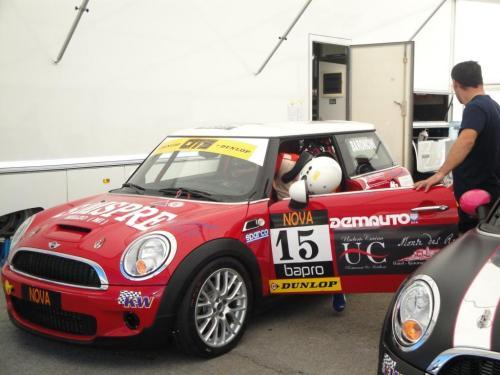 Giorgio Vinella 2010 Mugello Italian Championship Touring Car CITS Team Ravaglia Win Victory Mini