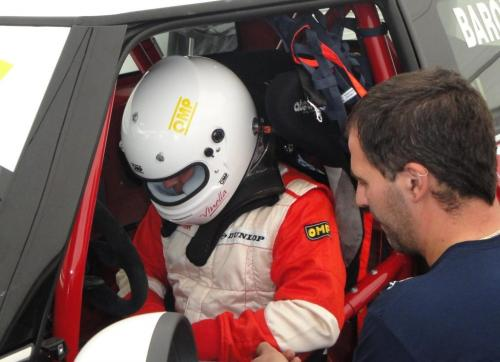 Giorgio Vinella 2010 Mugello Italian Championship Touring Car CITS Team Ravaglia Win Victory Mini 1