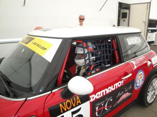 Giorgio Vinella 2010 Mugello Italian Championship Touring Car CITS Team Ravaglia Win Victory Mini 2