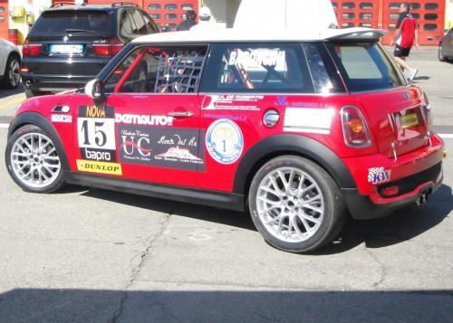 Giorgio Vinella 2010 Mugello Italian Championship Touring Car CITS Team Ravaglia Win Victory Mini 3