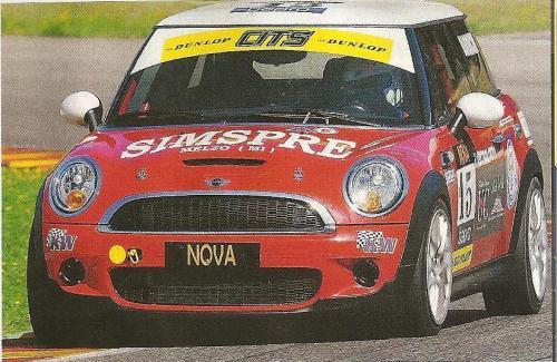 Giorgio Vinella 2010 Mugello Italian Championship Touring Car CITS Team Ravaglia Win Victory Mini Magazine Autosprint