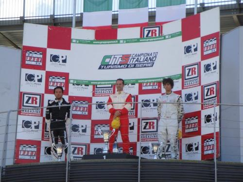 Giorgio Vinella 2010 Mugello Campionato Turismo di Serie CITS  Ravaglia Vittoria Mini Podio Nicoli Nember
