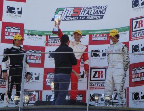 Giorgio Vinella 2010 Mugello Campionato Turismo di Serie CITS  Ravaglia Vittoria Mini Podio Nicoli Nember 1