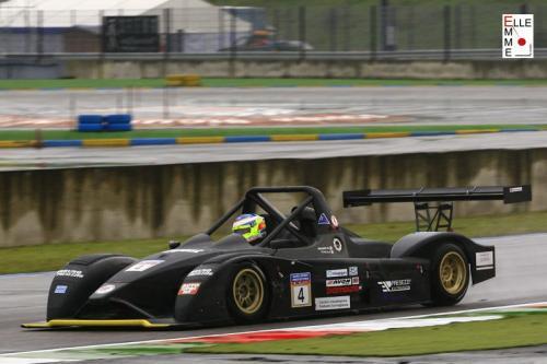 Giorgio Vinella 2010 European Sport Prototype Franciacorta CN2 Wolf Honda Podium