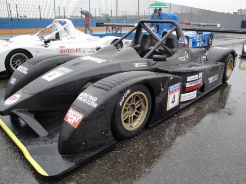Giorgio Vinella 2010 European Sport Prototype Franciacorta CN2 Wolf Honda Podium 3