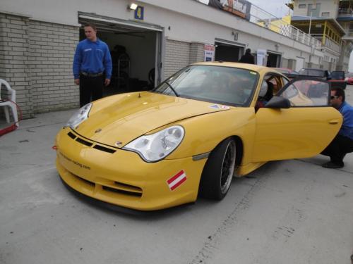 Giorgio Vinella 2010 Team Grasser racing Porsche 996 GT3 Brno Most Pannonia Test Endurance race Mauro Casadei 13